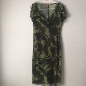 Ruby Rox Camo dress